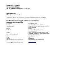 29.10.2012 10:00 Uhr bis 02.11.2012 14:00 Uhr - Tschamp