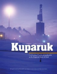 Celebrating 25 Years Of Production At The Kuparuk - for Petroleum ...