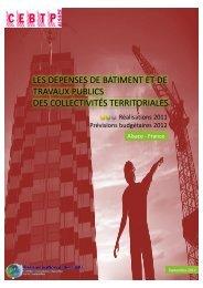 2011-2012 - Cellule Économique du Bâtiment et des Travaux ...