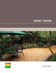 BORAL® PAVERS - Thompson Building Materials