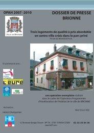 dossier de presse brionne - Habitat & Développement de l'Eure