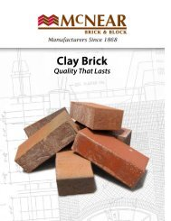 Clay Brick - Thompson Building Materials