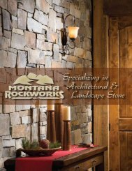 Architectural & Landscape Stone Specializing in