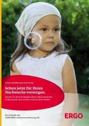 VORSORGE Rente Fonds für Kids