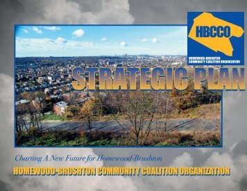 The Homewood-Brushton Comprehensive Community Organization ...