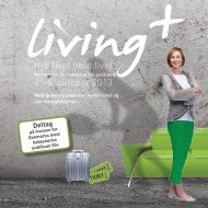 Klik her for at downloade vores brochure - Living+