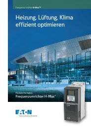 Frequenzumrichter H-Max - Moeller