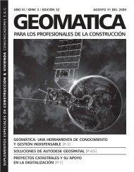 geomática - CONSTRUCCION Y VIVIENDA