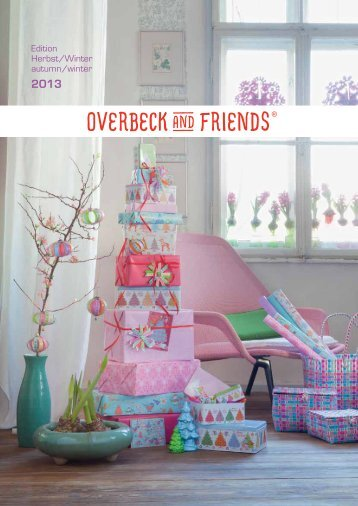 Edition Herbst/Winter autumn/winter - Overbeck and Friends