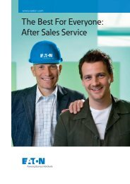 The Best For Everyone: After Sales Service - Moeller