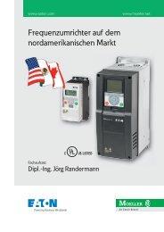 Frequenzumrichter auf dem nordamerikanischen Markt - Moeller