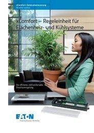 xComfort – Regeleinheit für Flächenheiz- und Kühlsysteme - Moeller