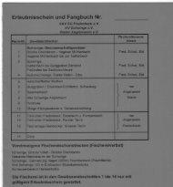 Erlaubnisschein und Fangbuch Nr. - SAV Stade