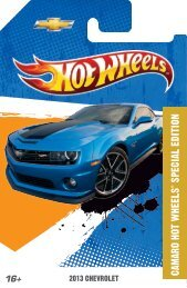 the 2013 chevrolet camaro hot wheels - Your #1 Camaro Information ...