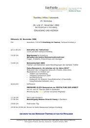 flexible.office.netzwerk. 26. und 27. November 2008 EINLADUNG ...