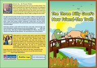 The Three Billy Goat's New Friend - The Troll! - Podar Jumbo Kids Plus
