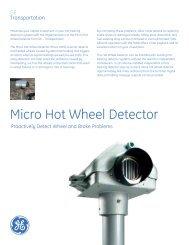 Micro Hot Wheel Detector - GE - Transportation Websites