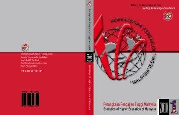 buku Perangkaan Pengajian Tinggi Malaysia 2010 - Kementerian ...