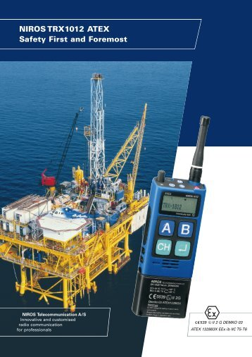 NIROS TRX1012 ATEX Safety First and Foremost - TCS Controls