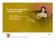 Product Management in Turbulent Times - svpma