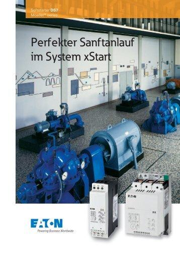 Perfekter Sanftanlauf im System xStart - Moeller