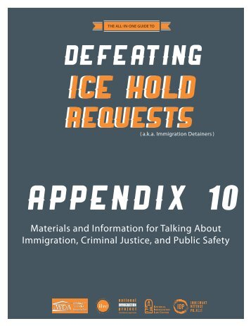Appendix 10 - National Immigration Project of the National Lawyers ...