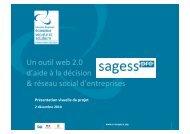 Un outil web 2.0 d'aide à la décision & réseau social d'entreprises