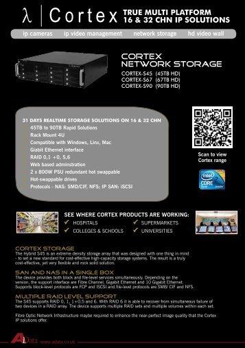 Cortex Network storage - Qvis Security