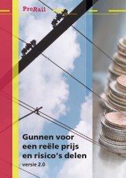 Brochure Gunnen voor reële prijs en risico's delen - ProRail
