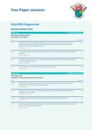 Free Paper sessions - SIOP 2012, 44th Congress of the International ...