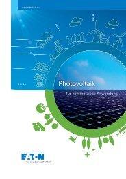 Neuer Katalog: Photovoltaik für kommerzielle Anwendung - Moeller