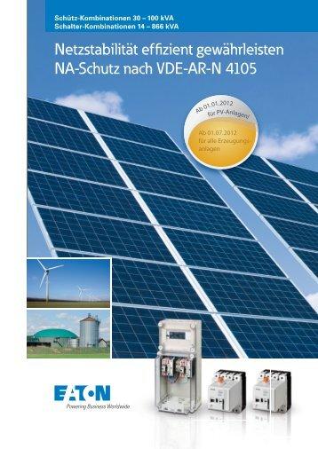 Netzstabilität effizient gewährleisten NA-Schutz nach VDE ... - Moeller