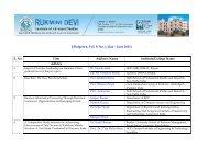 List of Articles Effulgence, Vol. 9, No. 1, Jan - June 2011