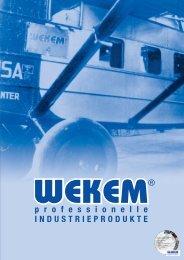 Wekem-Produktkatalog 2007