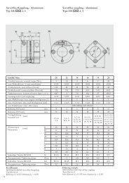 Servoflex-Kupplung - Aluminium Servoflex-coupling - aluminium ...