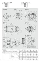 Servoflex-Kupplung - Stahl Servoflex-coupling - steel Typ 318. .1. 1 ...