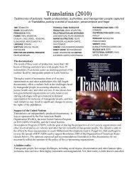 Translatina (2010) - International Day Against Homophobia