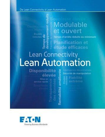 De Lean Connectivity à Lean Automation - Moeller