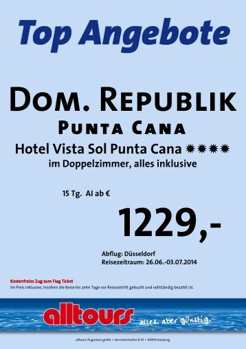 Dom.-Republik Playa Dorada Dom.-Republik Punta Cana