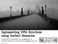 Implementing Intelligent Content Solutions - Center for Information ...