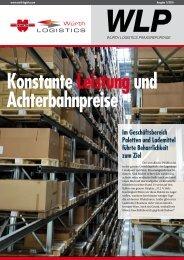 WLP Konstante Leistungund Achterbahnpreise - Würth Logistics