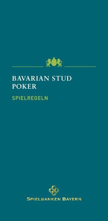 BAVARIAN STUD POKER - Spielbanken Bayern