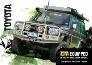 Toyota 4x4 Accessories - TJM Products
