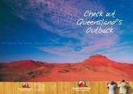 Check out Queensland's Outback