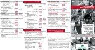 Nos tarifs au 1er septembre 2007 - Crédit Agricole Alpes Provence