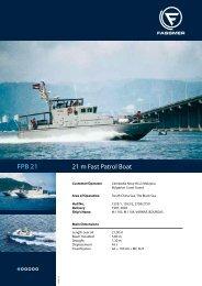 FPB 21 - Fr. Fassmer GmbH & Co. KG