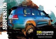 4x4 Suspension - TJM Products