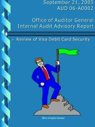Office of Auditor General Information Advisory No. 1 - WMATA.com