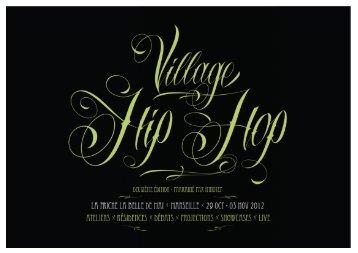Dossier de presse Village Hip Hop 2012 - AMI