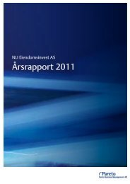 Årsrapport 2011 - Pareto Project Finance
